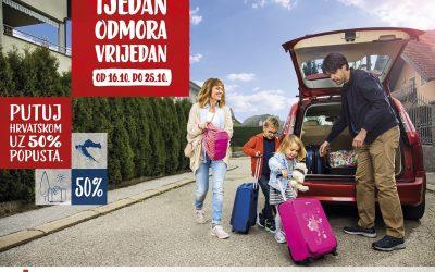 Gotovo 400 turističkih usluga i doživljaja dostupnih po 50 posto nižim cijenama