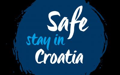 Uputa o izdavanju oznake Safe stay in Croatia